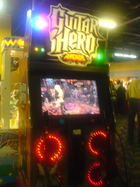 Guitar Hero Arcade at Midway Family Fun Park
